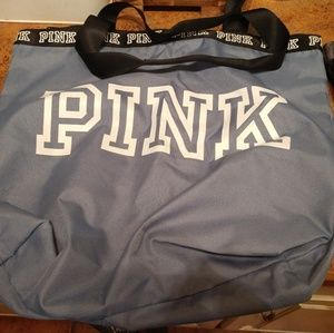 Lot of 2 Victoria's Secret PINK tote bags